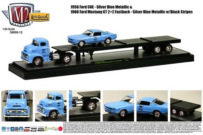 1956 Ford COE & 1965 Ford Mustang GT 2 + 2 Fastback