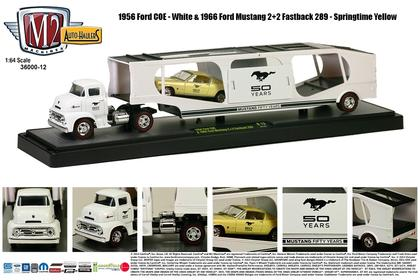 1956 Ford COE & 1965 Ford Mustang 2 + 2 Fastback 289