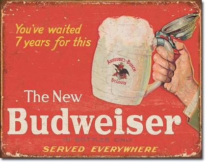 The New Budweiser In Bottle Only - Served Everywhere