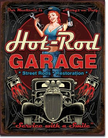Hot-Rod Garage - Service With A Smile