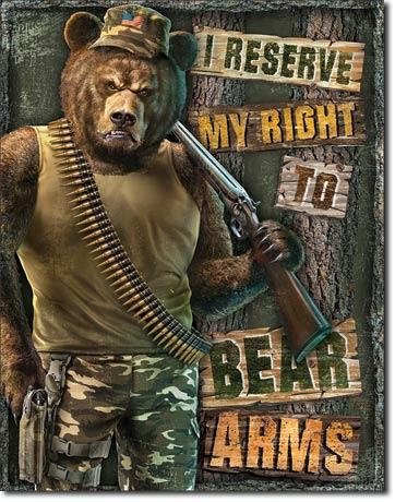 I Reserve My Right To Bear Arms