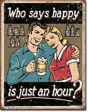 Who says happy is just an hour?