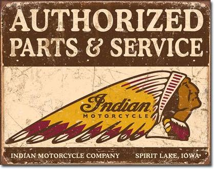Authorized Parts & Service - Indian Motorcycle