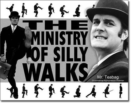 The Ministry Of Silly Walks - Mr. Teabag