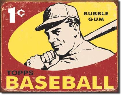 Topps bubble gum - Baseball