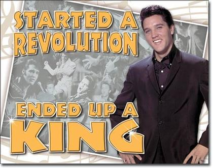 Started A Revolution Ended Up A King