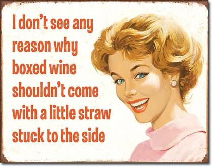 I don't see any reson why boxed wine...