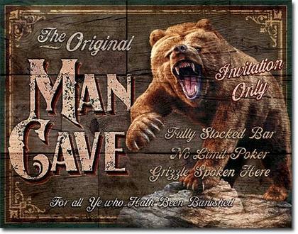 The Original Man Cave