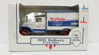 Bank 1931 Delivery Truck True Value Hardware
