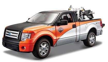 Ford F-150 STX 2010 with Harley-Davidson FLSTF Fat Boy 2000