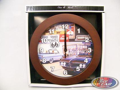 Clock Route 66
