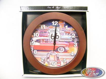 Clock Route 66 with Bel Air
