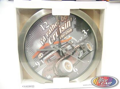Retro clock A&W - I'd rather be Cruzin' The Dub