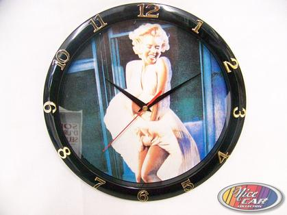 Clock Marilyn Monroe 12in