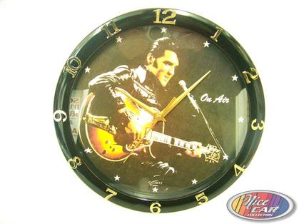 Clock Elvis Presley with guitar 12po