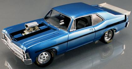 Chevrolet Nova Yenko 1969 (damaged)