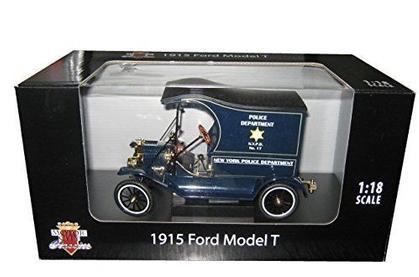 Ford Model T 1917 Cargo Van Police