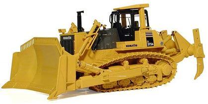 Komatsu D375A Crawler Dozer with Ripper