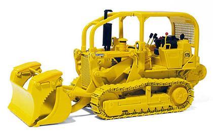 International Harvester 175 Crawler with Demolition Bucket and Winch