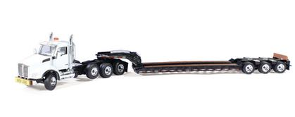 Kenworth T880 with 3-Axle Lowboy Trailer