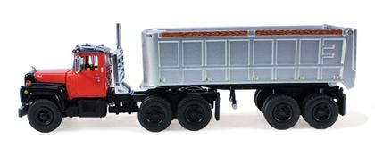 Mack R Day Cab with 22' End Dump Trailer