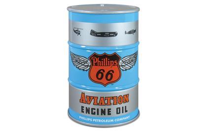 55-Gallon Drum Coin Bank