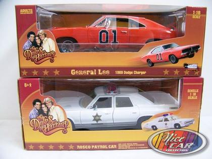 Combo Dukes of Hazzard Dodge Charger 1969 and Dodge Monaco 1975
