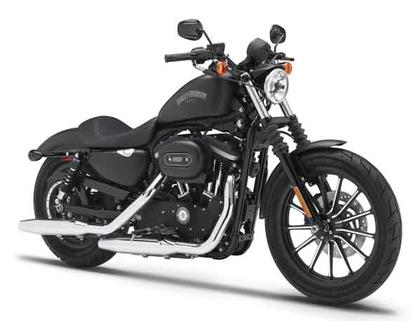 2014 Harley-Davidson Sportster Iron 883 Motorcycle
