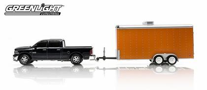 Dodge Ram 1500 2014 and Enclosed Car Hauler - Hitch & Tow Series 2