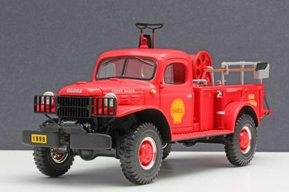 Dodge Power Wagon Brush Unit 1949 - Shell Oil Company
