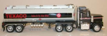 Bank Texaco Tanker Star Truck with lights and sounds *Plastic*
