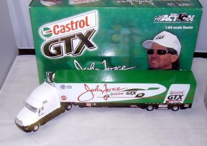 John Force Castrol GTX 2002 Hauler