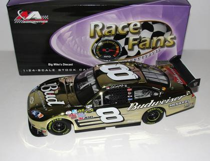Dale Earnhardt Jr. #8 Budweiser Gold Chrome