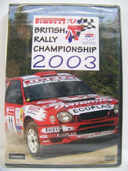 Pirelli British Rally Championship 2003