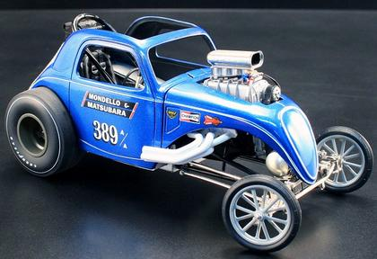 Mondello & Matsubara Fiat Topolino Altered Dragster
