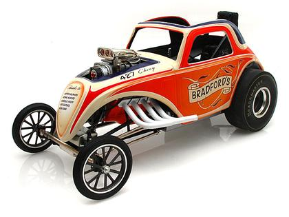 Bradford's Altered Fiat Topolino Dragster