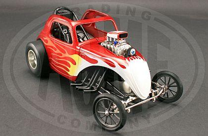 Fiat Topolino Flamed Altered Dragster Tom's Garage