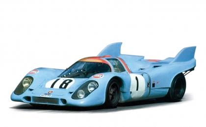 Porsche 917K 24H Du Mans 1971 Training Oliver/Siffert/Bell