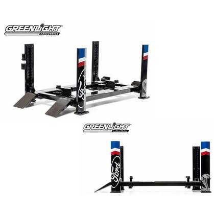 Four-Post Lift Black