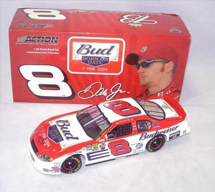 Dale Earnhardt Jr. #8 Budweiser / Born On Date 2004 Monte Carlo
