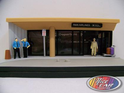 Diorama RMX AIRLINES 1:43