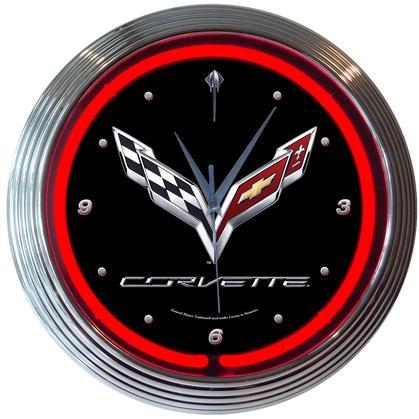 Corvette Neon Clock