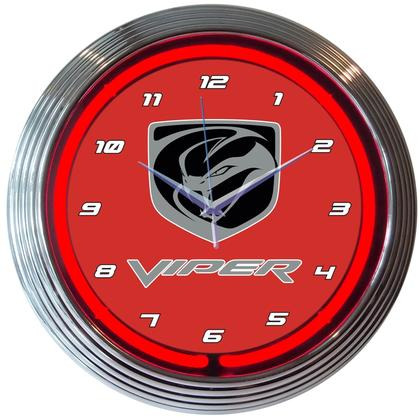 Viper Neon Clock