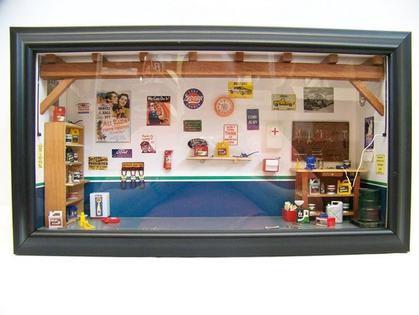 Diorama Mini Garage Ford