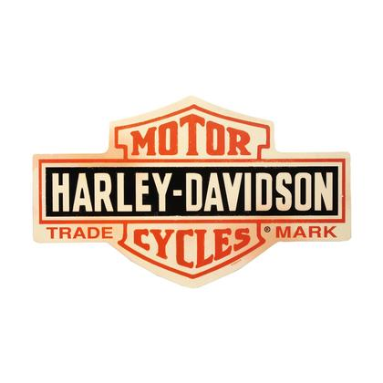 Harley-Davidson - Bar & Shield (Embossed)