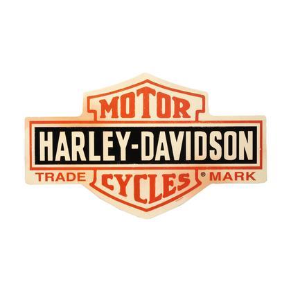 Harley-Davidson - Bar & Shield (Embossed)