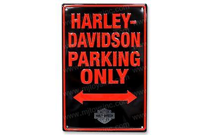 Harley-Davidson Parking Only (Embossed)