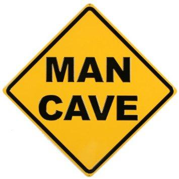 Man Cave (Embossed)