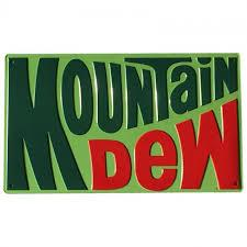 Mountain Dew 1970 Logo (Embossed)