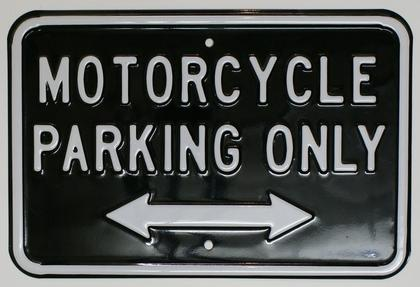 Motorcycle Parking Only